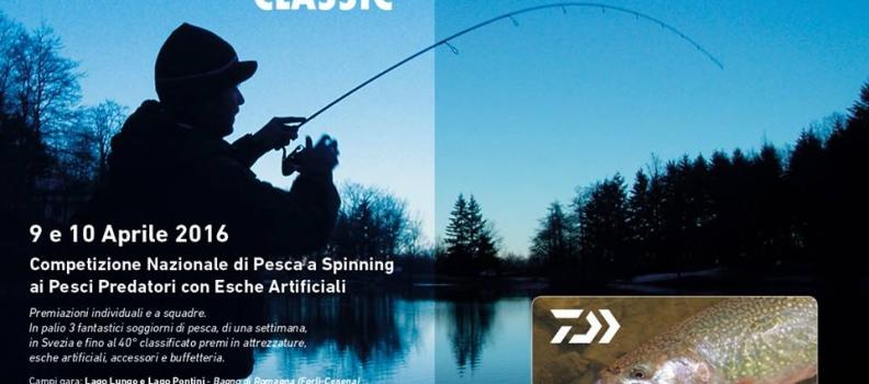 Competizione Nazionale di Pesca a Spinning ai pesci predatori con esche artificiali