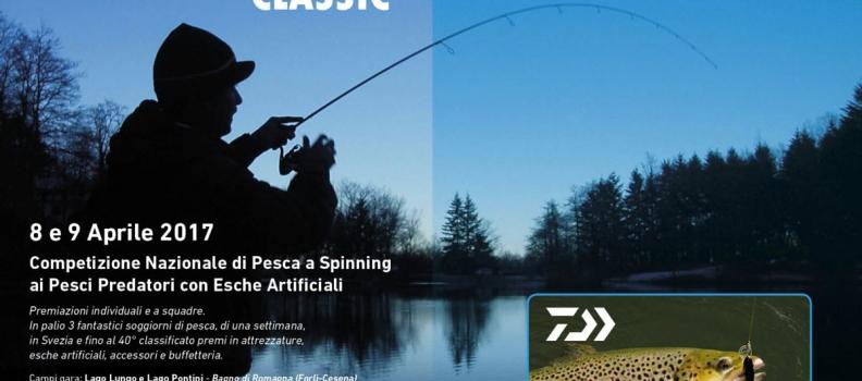 Competizione Nazionale di Pesca a Spinning ai Pesci Predatori con Esce Artificiali